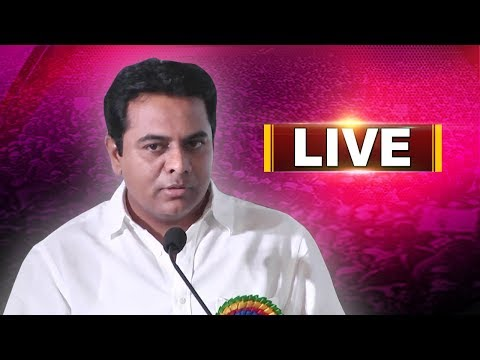 TRS working President KTR Participates in Meet the Press at Somajiguda LIVE | ABN LIVE