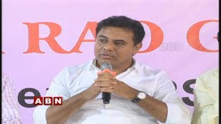 TRS working President KTR Participates in Meet the Press at Somajiguda