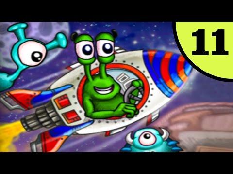 Несносный УЛИТКА БОБ в Космосе. Часть 1. Мультфильм ИГРА для детей на Игрули TV