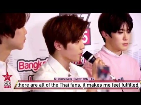 [ENG SUB] 160213 Taeyong talking cut @ Virgin Hitz Radio (Thailand)
