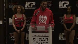 King's Promotions Press Conference  Carto vs Smith