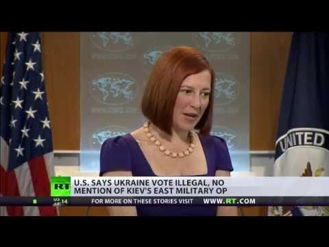 US says Eastern Ukraine vote illegal