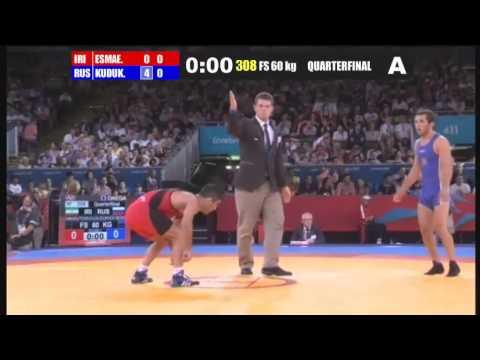 Olympic Games London 2012 (IRAN R.I.) Masoud ESMAEILPOORJOUYBARI (RUSSIA) Besik KUDUKHOV BESIK KUDUKHOV RIP #respect.