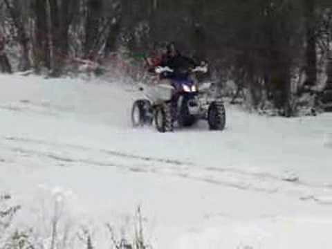 Atv quad štirikolesnik SHINERAY XXXL SUPER POWER IN ACTION