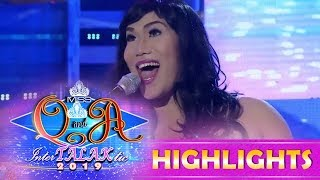 It's Showtime Miss Q and A: A candidate shows off her talent in creating animal sounds