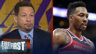 Chris Broussard reacts to reports Lakers have interest in Dwight Howard | NBA | FIRST THINGS FIRST
