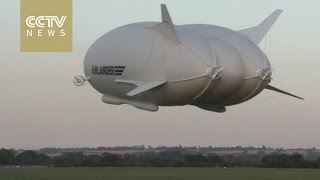 Watch: World's longest aircraft takes off to the sky for the first flight