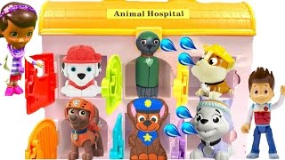 Best Learning Colors Video for Children - Paw Patrol Mission Pups in Animal Hospital