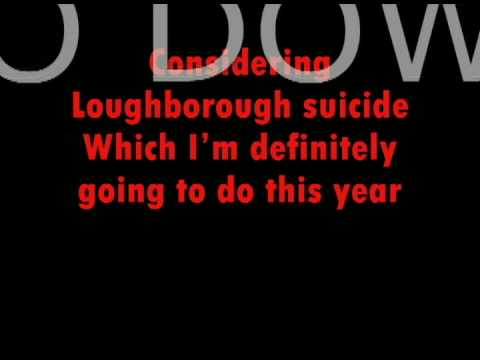 Young knives, Loughborough Suicide with lyrics