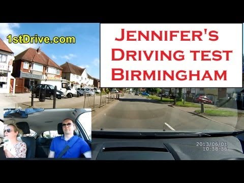 Jennifer's driving test - Birmingham, Kings Heath