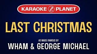 Last Christmas Karaoke Version Wham Tracksplanet