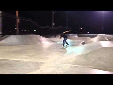 Last Night Skating at Chino Skatepark