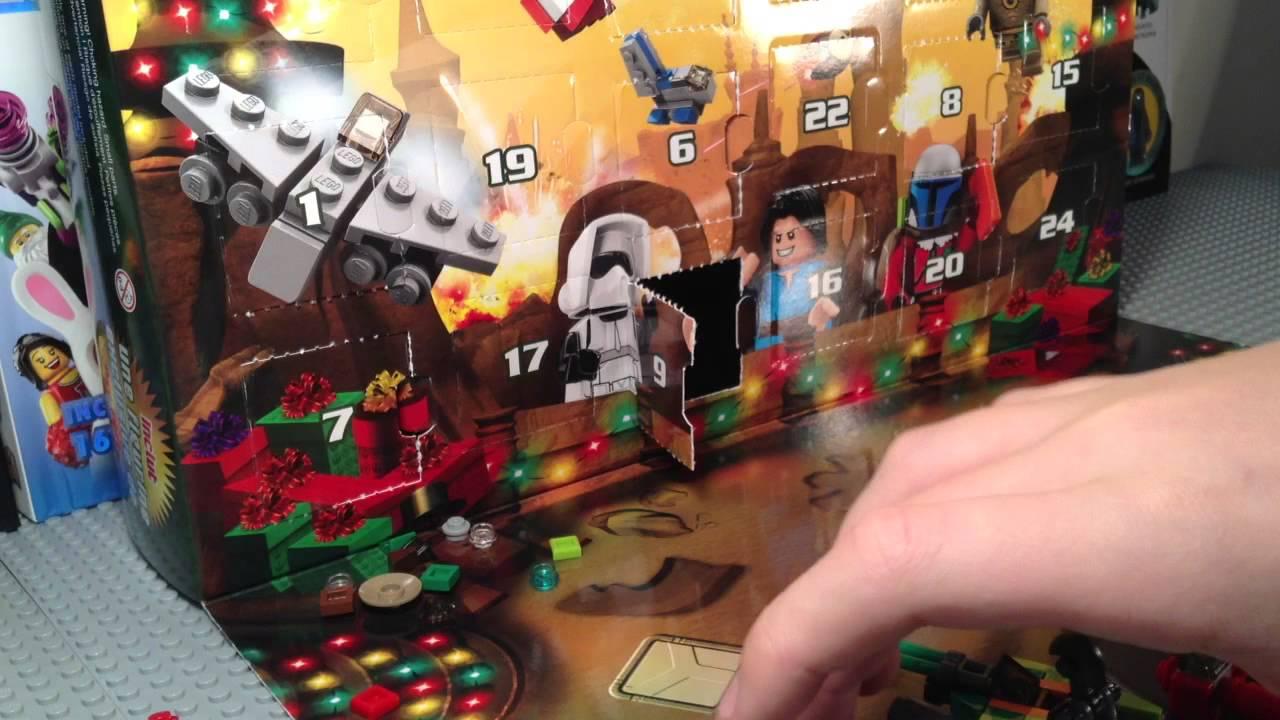 Lego Star Wars 75023 2013 Advent Calendar Live Build - YouTube