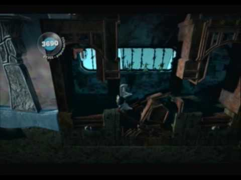 Little Big Planet (PS3) Gameplay Part 23 (The Wilderness - Frozen Tundra)