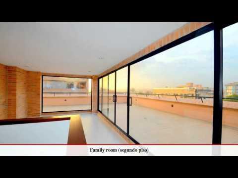 Penthouse duplex con terraza, Bogota | Compra y venta apartamentos