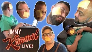 YouTube Challenge – I Threw Cheese on My Dad's Face