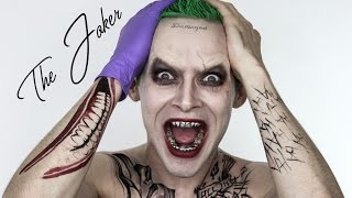 The JOKER Suicide Squad Halloween MakeUp   Jared Leto   Shonagh Scott