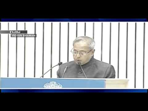 President Pranab Mukherjee's Address on the National Technology Day