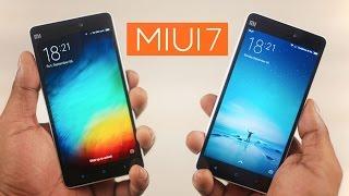 MIUI 7 New Features (& Comparison vs MIUI6)