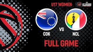 LIVE - Cook Islands v New Caledonia - FIBA U17 Oceania Championships 2019