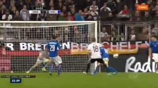 Toni Kroos Goal For Germany ! Germany vs Italy