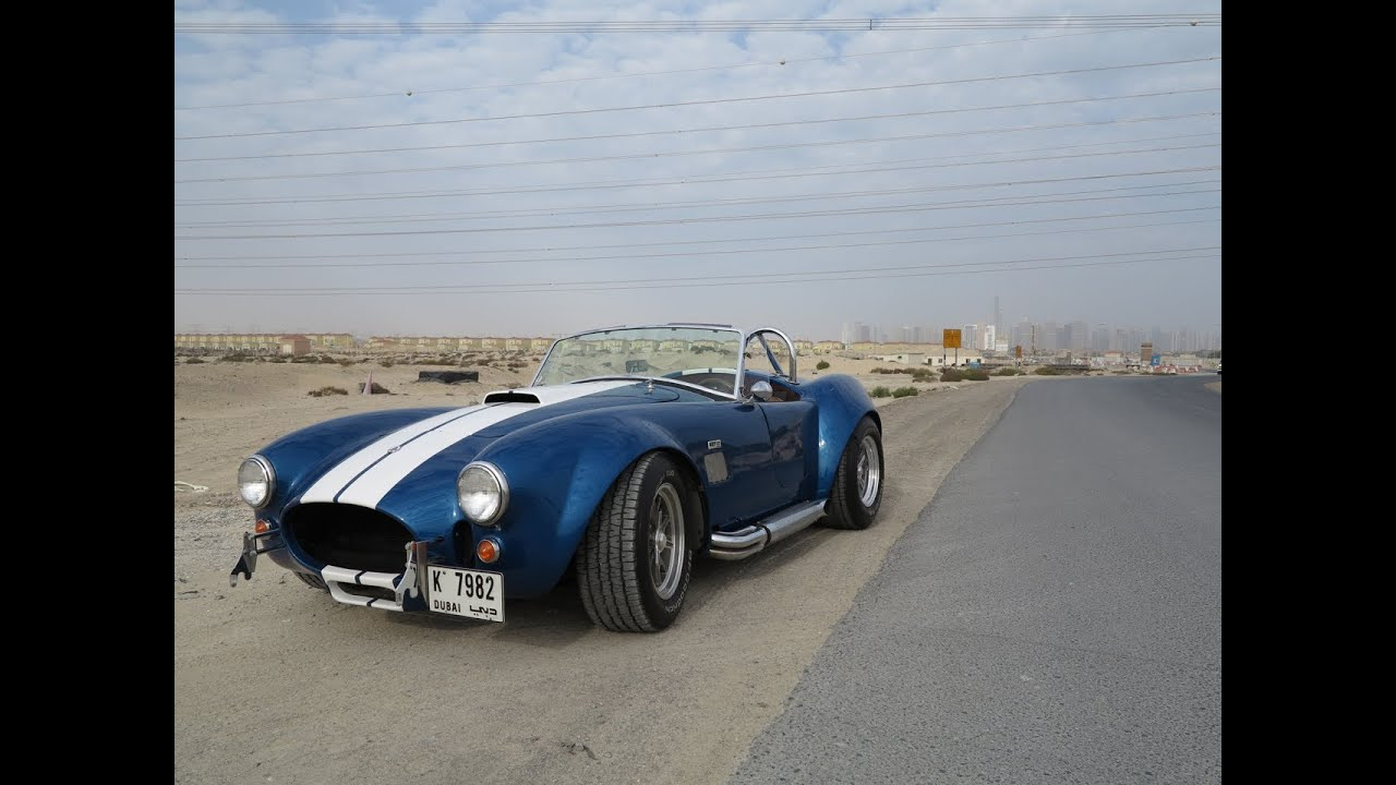 1965 shelby ac cobra 427 the dubai ride youtube. Black Bedroom Furniture Sets. Home Design Ideas