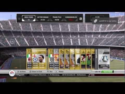 FIFA 12 Pack Opening Ultimate Team Road To IF Ronaldo Episode 6