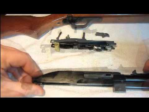 Marlin Model 60 disassembly- .22 Rifle  -& Reassembly