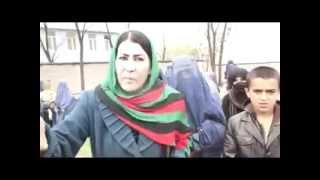 Vote for Ashraf Ghani a female MP of Afghanistan forcing women to vote