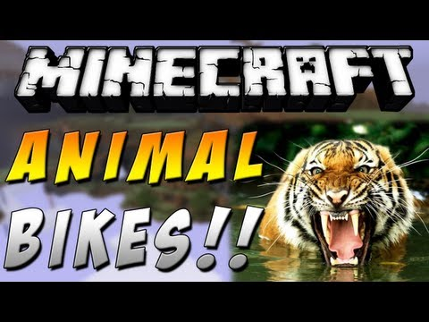 Minecraft 1.6.4 - Como instalar Animal Bikes MOD - ESPAÑOL TUTORIAL