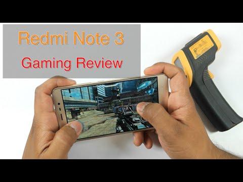 Xiaomi Redmi Note 3 Gaming Review & Overheating Check! (GTA San Andreas. MC5. NOVA3. Asphalt8)