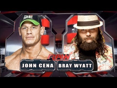 Wwe Raw 2014 - John Cena Vs Bray Wyatt - Full Match Hd! video