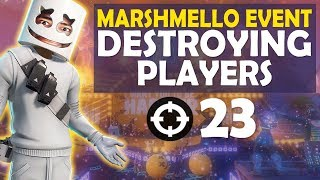 DESTROYING PLAYERS AT MARSHMELLO EVENT...