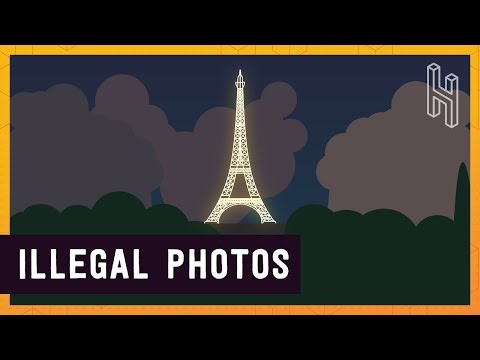 Watch Video Why Photos of the Eiffel Tower at Night are Illegal