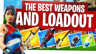 The Best Fortnite Weapons and Loadout - Fortnite New Buffs and Nerfs