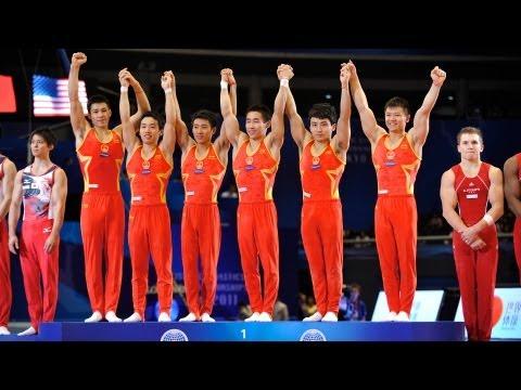Artistic Worlds 2011 TOKYO - Men's Team Final - We are Gymnastics!