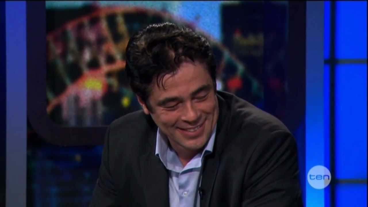 Benicio del toro interview on the project 2012 youtube