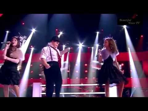 Ragda/Irakli/Arina.Feeling good.The Voice Kids Russia.