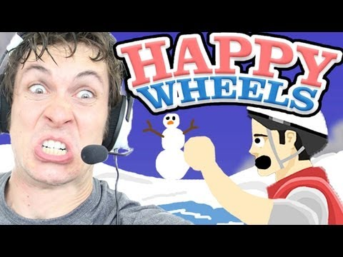 Happy Wheels - FREAKING ICE SHORE