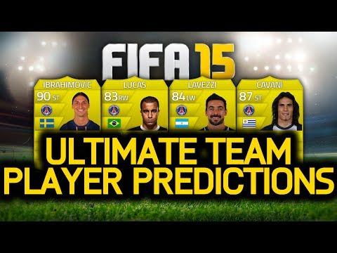 FIFA 15 ULTIMATE TEAM PLAYER PREDICTIONS! IBRAHIMOVIC, LAVEZZI, CAVANI & LUCAS! FUT 15!