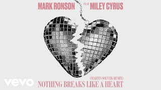 Mark Ronson Nothing Breaks Like A Heart Martin Solveig Remix Audio Ft Miley Cyrus