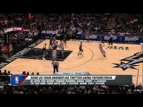 MammaMia-2 2014-2015 Offense Mix for San Antonio Spurs
