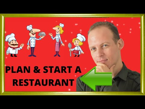 How to write a business plan for a restaurant & How to start a restaurant
