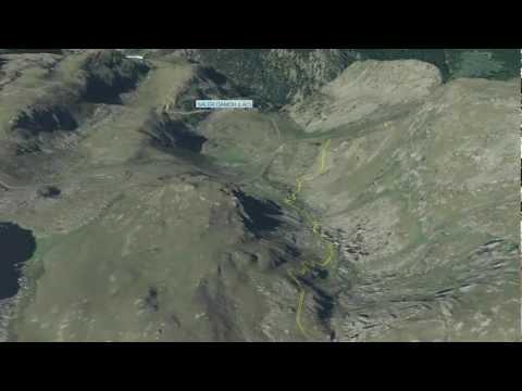 Valle d'Aosta sentieri 3D - Tour Mont Rose