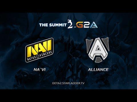NaVi vs Alliance TheSummit2