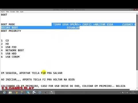 BOOT ACER E1-571 -6854 TUTORIAL COMPLETO