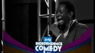 Klint de DRUNK Live on Independence Comedy JAM This 3rd March 2012