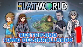 GAME DEV destripando FLAT WORLD  #1 - NUEVO JUEGO de un YOUTUBER [Guinxu]