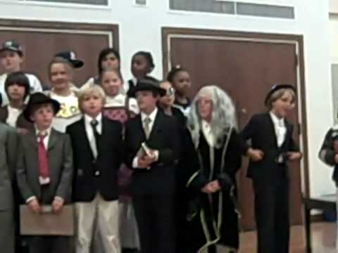 New Canaan Country Day Wax Museum Finale