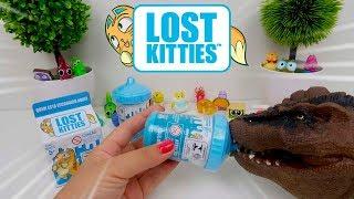 Novos Lost Kitties Serie 2 de Mamadeira Super Fofos